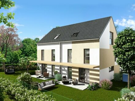 Modernes Doppelhaus nur 650m zur UBahn (U1), Baurechtsgrund