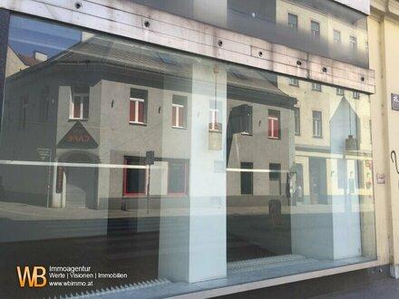 Geschäftslokal mit Auslagenfront ca. 180 m²