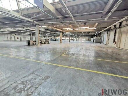 Produktionsfläche mit Lager und Büro! Circa 6.500m² Nutzfläche