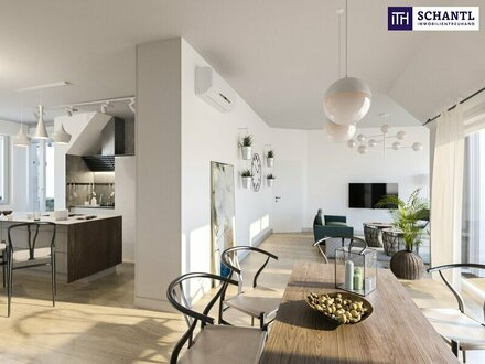 Familientraum im Dachgeschoß: 4-Zimmer + gemütliche Terrasse + riesige Wohnküche + perfekte Raumaufteilung!