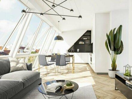 #Purer Charme und Wiener Tradition verbinden sich hier zu Modern Living _ Moderne 3-Zimmer Maisonette mit Loggia und Te…