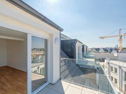 ++NEU++ Premium 3-Zimmer DG-NEUBAU-ERSTBEZUG mit zwei Terrassen in TOP-Lage! nahe Kagraner Platz