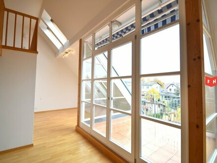Dachgeschosswohnung mit Terrasse - Fernblick!