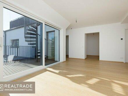 (ERSTBEZUG) NEW PRESTIGE - Exklusive Dachterrassenwohnung +360°Blick+ AAA-Lage am unteren Belvedere