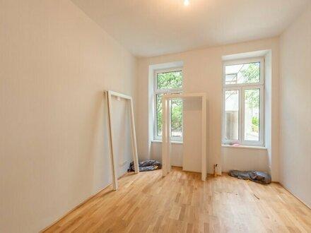 ++NEU++ Kernsanierte 1-Zimmer ALTBAUwohnung mit Fußbodenheizung, Hofruhelage!