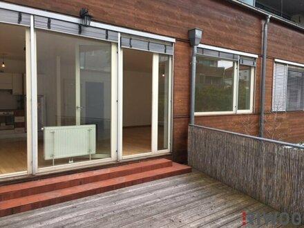 3 Zimmer-Wohnung mit großzügiger Wohnküche und Loggia in den Innenhof gerichtet
