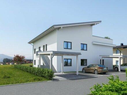 FERNBLICK: 4-Zimmer-Wohnung in Perwang!
