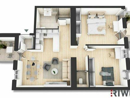 ++ Marchfeld15 ++ Perfekt geschnittene 3-Zimmer Altbauwohnung mit 2 Balkonen