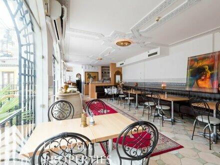 Orientalischer Gastronomiebetrieb wie aus 1001 Nacht Nähe Stadthalle