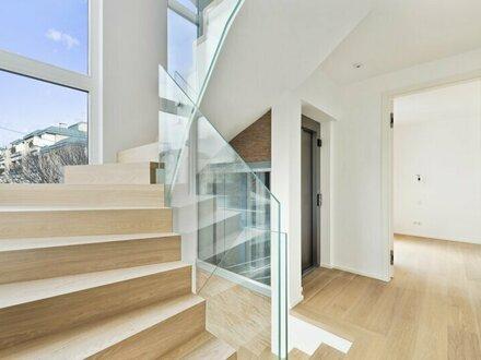 TOWNHOUSE-LIVING: Modernes Stadthaus mit Lift auf 5 Ebenen