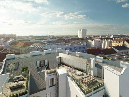 """***KURZ vor Fertigstellung*** Dachgeschoßwohnungen mit großzügigen Terrassen --> Projekt """"Leopold Living 7"""""""
