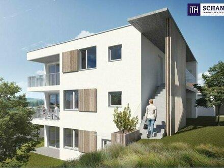 Liebevolle Kleinwohnung, ideal aufgeteilt mit 2 Zimmer + Terrasse + Grandiosen Ausblick + Photovoltaik inkl. in 8075 Hart…