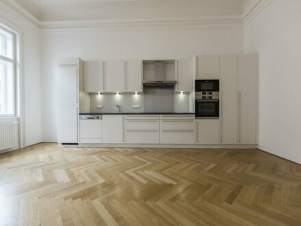 ERSTBEZUG nach SANIERUNG! Traumhafte, moderne 4-Zimmer Altbauwohnung in 1040 Wien - unbefristet zu mieten!
