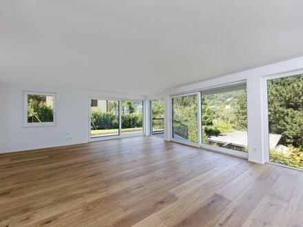 Gartenwohnung in Grünlage! Exklusiver 3-Zimmer-Erstbezug mit 2 Terrassen