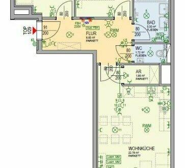 6. Stock mit südseitigem Wohnzimmer u. Stützkühlung (1_29)