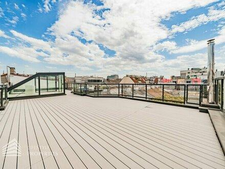 Erstbezug! 3-Zimmer Dachgeschoss-Wohnung mit Terrasse in Wieden
