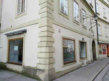 Geschäftslokal in der Salzburger Innenstadt