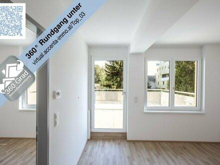 Nähe Alte Donau - sonnige 2-Zimmer Neubauwohnung mit Terrasse!