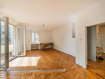 Schöne 3-Zimmer Mietwohnung mit Terrasse im 4. Bezirk
