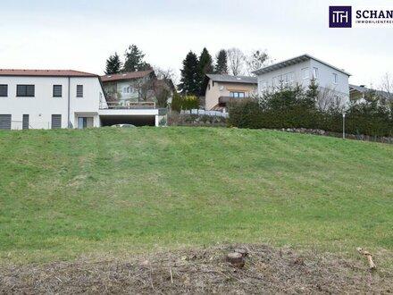 JETZT ZUGREIFEN: TRAUM-Grundstück in bestechender Lage in 8075 Hart bei Graz - Ganztags-Sonne garantiert!