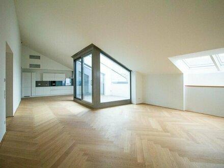 360°! Exklusive DG-Wohnung mit großzügiger Terrasse Nähe Rudolfspark