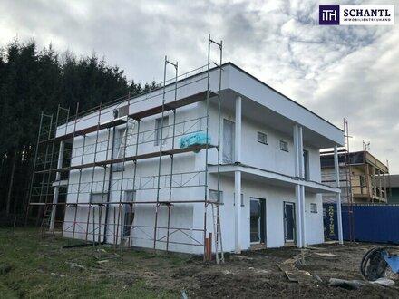 LEISTBARES WOHNEN: Neubau Doppelhaushälfte im Bezirk Deutschlandsberg + PROVISIONSFREI! ++ ERSTBEZUG +++ Wärmepumpe mit Kühlfunktion