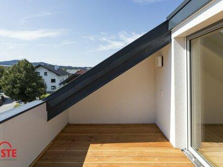 Bieterverfahren: Startpreis € 280.000,- 3-Zimmer-Dachterrassenwohnung - Erstbezug - Straßwalchen