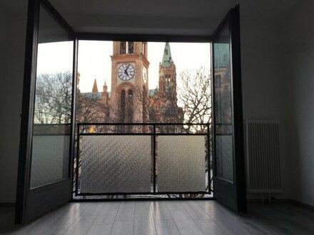 """""""Ruhiger 3-Zimmer-Traum mit herrlicher Aussicht auf Park und Kirche - unmittelbare Nähe Reumannplatz!"""" NEU inkl. GARAGENPLATZ"""