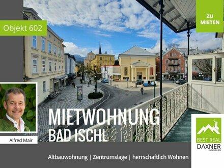 Freundliche Altbauwohnung im Zentrum von Bad Ischl zu mieten!