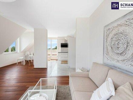 Traumhaft: Uneinsichtige Dachgeschoßwohnung mit perfekter Raumaufteilung und atemberaubenden Blick ins Grüne!