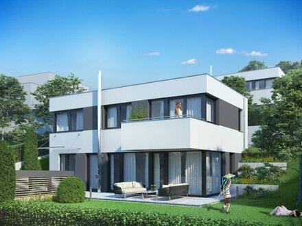 AUSSICHT pur: Modernes Einfamilienhaus mit einzigartigem Fernblick im ERSTBEZUG