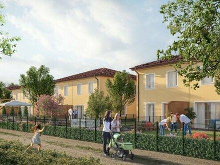 Schlüsselfertige, exklusive & klimatisierte Doppelhäuser mit Toskana-Flair - MASSIVHAUS!