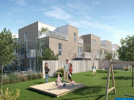 Modernes Eigentum im Vorgarten der Metropole: 3 Zimmerwohnung mit Balkon