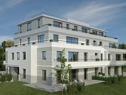 Hochwertige 3 Zimmer Erstbezugs-Wohnung mit großer Sonnen-Terrasse in der Riedenburg!