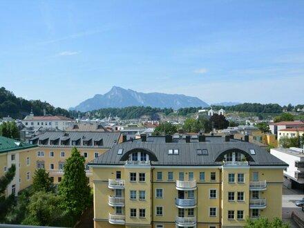 Sanierte 2-Zimmer-Wohnung mit tollem Ausblick und Balkon in Schallmoos