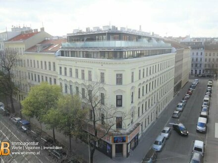 Traumhafter DG-Erstbezug! 3 Zimmer Maisonette mit Rundum Terrasse in gefragter Wohngegend nahe dem Augarten!!
