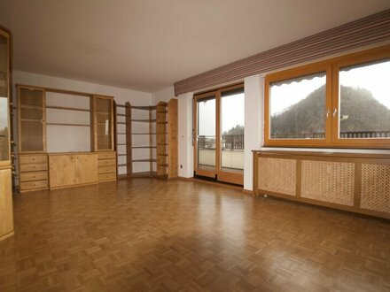 Dachterrassen-Wohnung mit freiem Blick