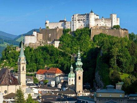 Wohnung über den Dächern mit Salzburg Blicken