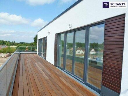 FEINES NEUBAUPROJEKT: Grünoase. 2-Zimmer. Sonnenlage. Erstbezug + Tiefgarage + Balkon ( 38m² bis 92m² verfügbar)