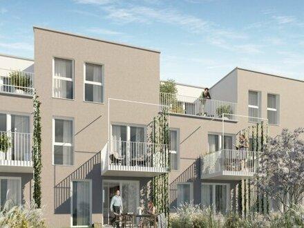 Modernes Eigentum im Vorgarten der Metropole: 2 Zimmerwohnung mit Balkon