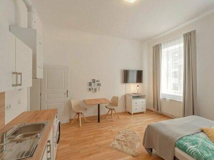 ++NEU++ TOP-sanierte 2-Zimmer Altbauwohnung in Hofruhelage mit Fußbodenheizung!