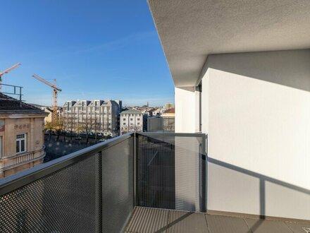Genießen Sie Höhenluft im 6. Stock - hell und freundlich - zentral begehbare 3 Zimmer mit Freiflächen (1_27)