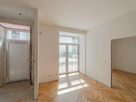 ++NEU** Hochwertiger 2-Zimmer ALTBAU-ERSTBEZUG mit Terrasse und Garten, tolle Raumaufteilung!