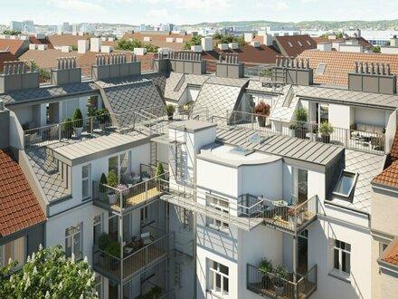 #Purer Charme und Wiener Tradition verbinden sich hier zu Modern Living _ Moderne 3-Zimmer DG-Maisonette mit großzügige…