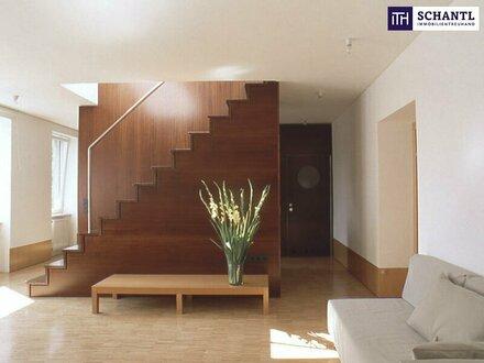 Einfach genial! Architekten Wohnung mit großer Terrasse im Top-Zustand mit perfekter Raumaufteilung!