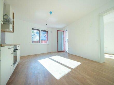 Erstbezug: Charmante 2-Zimmer-Wohnung mit Loggia im Stadtteil Gnigl