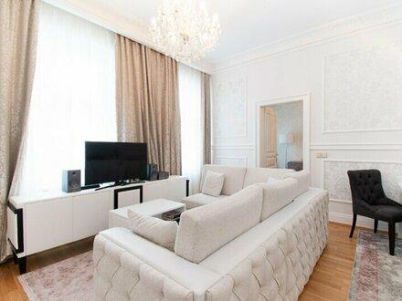 Luxuriös ausgestattete Altbauwohnung im 5. Bezirk!