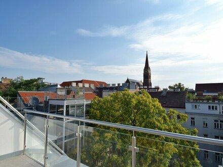 EUM - Erstbezug! Stylische Dachgeschosswohnung im charmanten Altbau