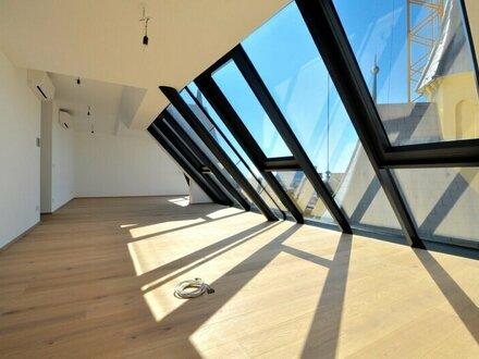 EUM - DACHGESCHOSS-ERSTBEZUG! 4-Zimmer-Maisonette mit großer Terrasse in Währinger Bestlage