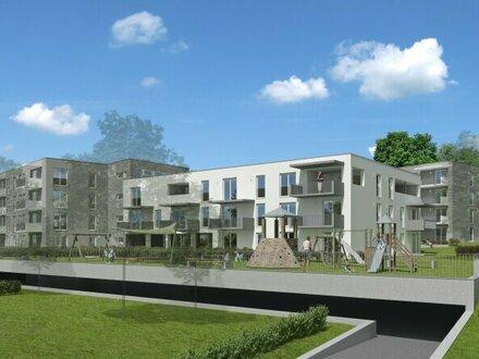 """Top 9 mit 29 m² Eigengarten, Neubauprojekt Schärding """"Kreuzberg"""", Mietkaufwohnung Typ 1 (2-Zimmer)"""